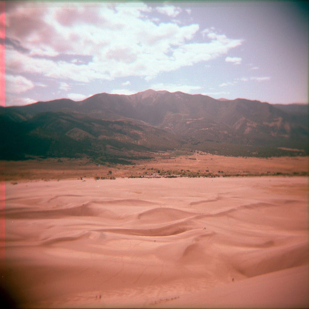 A film photo I shot at Great Sand Dunes National Park on my first-ever visit to Colorado, in 2012.
